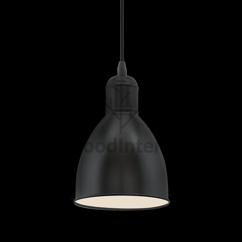 Подвесной светильник Black Dome One купить в Москве цена со скидкой в скандинавском эко лофт стиле - WoodInteria