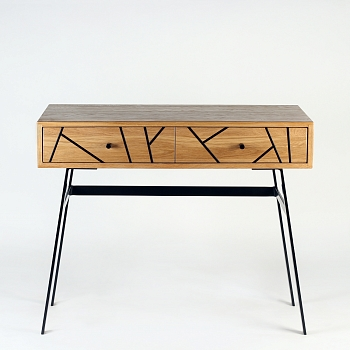 Рабочий стол Eco BlackWood WorkTable