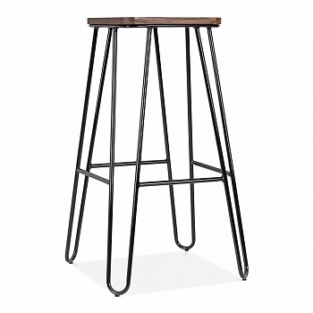 Барный стул HairPin Square Barstool 75